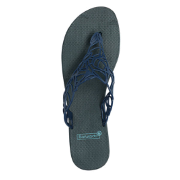 6-500302 Flipflops Acacia Night Blue & Night Blue