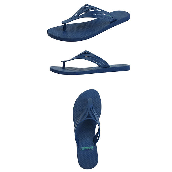 6-500421 Flipflops Swell Blue & Blue