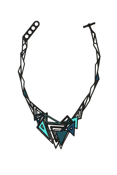 Kheops - Collier (Black/Blue)